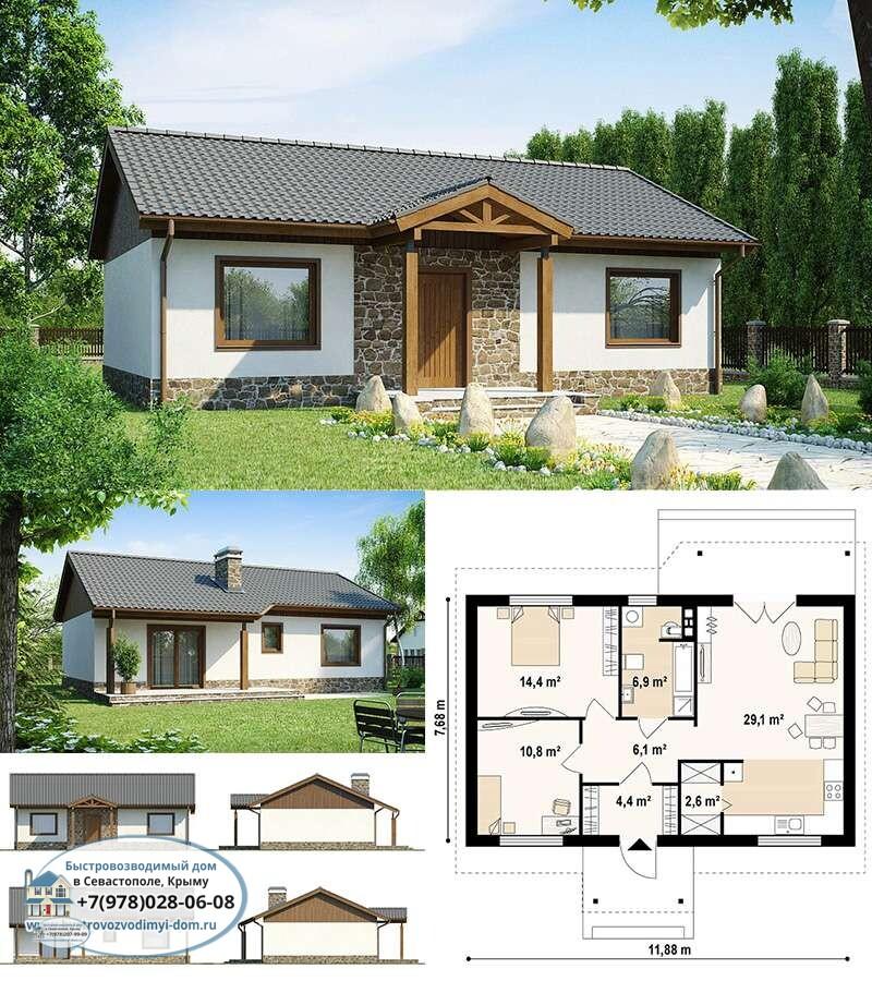 Построим каркасно деревянный дом Севастополь