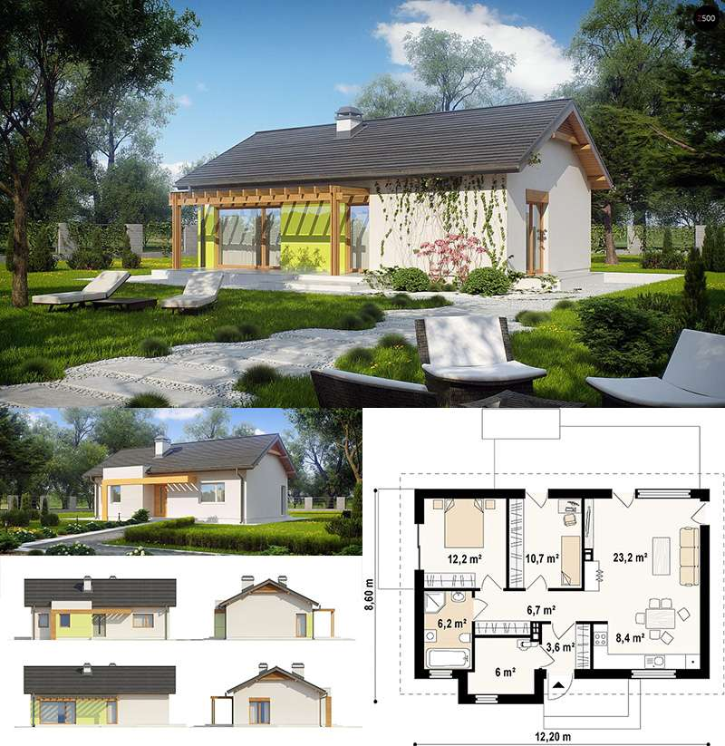 Каркасный дом проект Севастополь