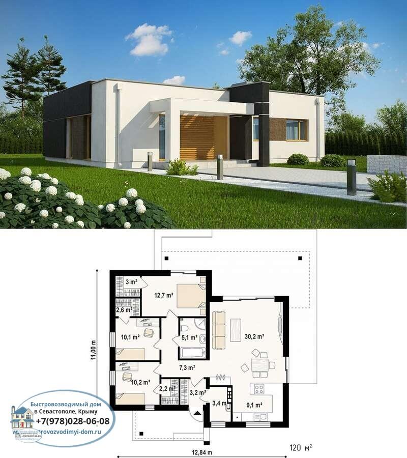 Строительство дачных каркасных домов Севастополь
