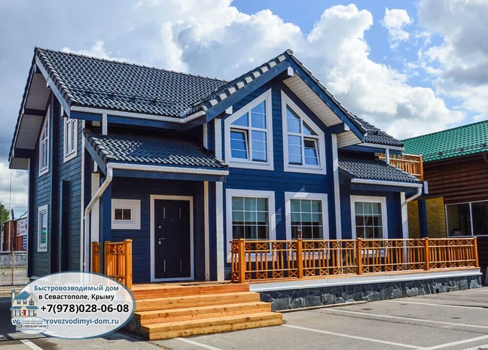 Строительство домов из бруса в Севастополе