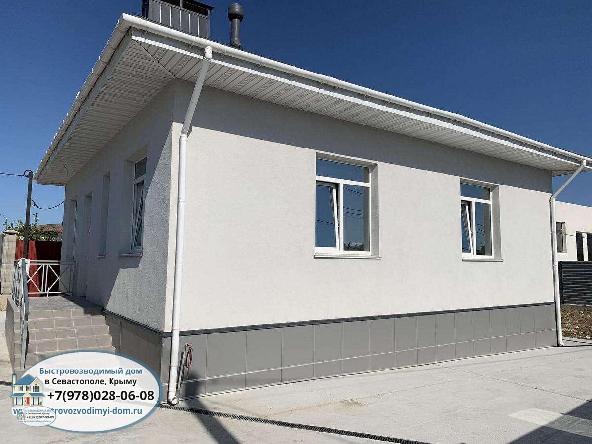 Строительство домов из ракушечника в Крыму, Севастополе