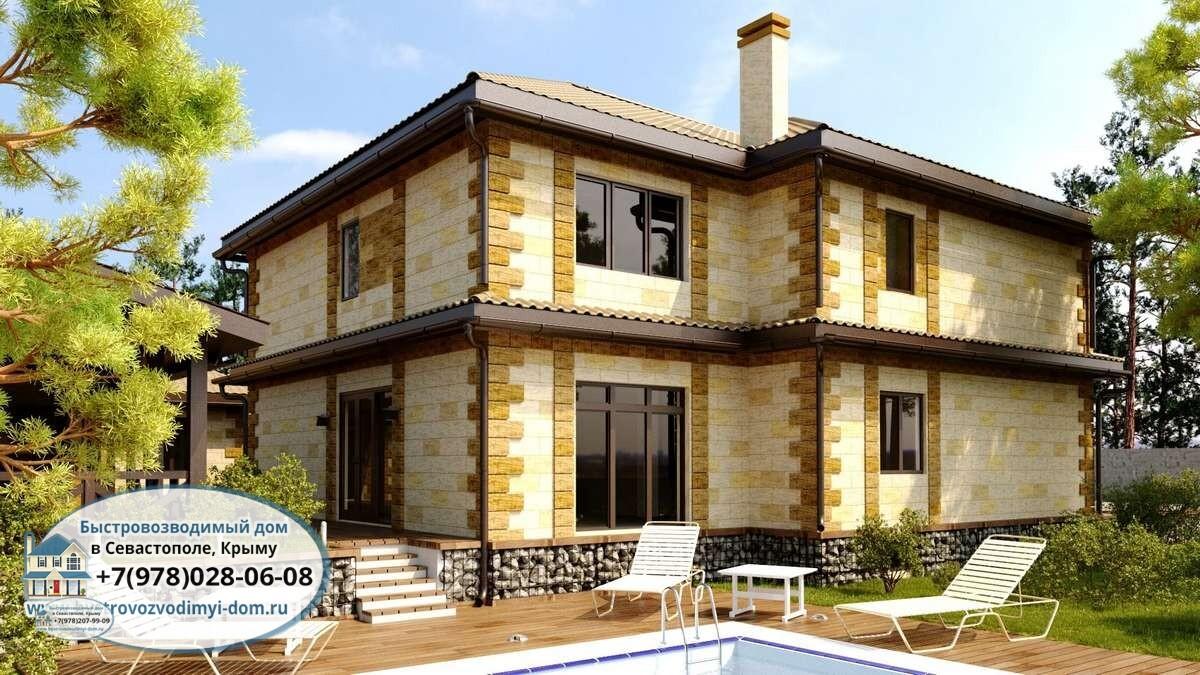 Дома под ключ проекты и цены Севастополь