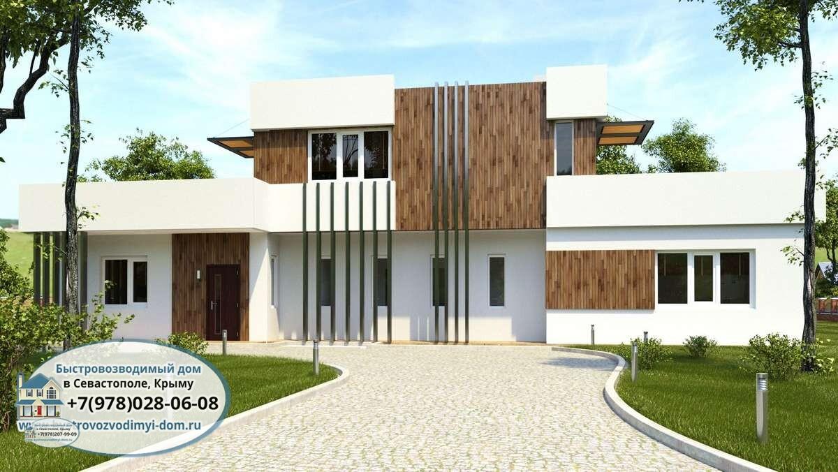Проекты домов и коттеджей Севастополь