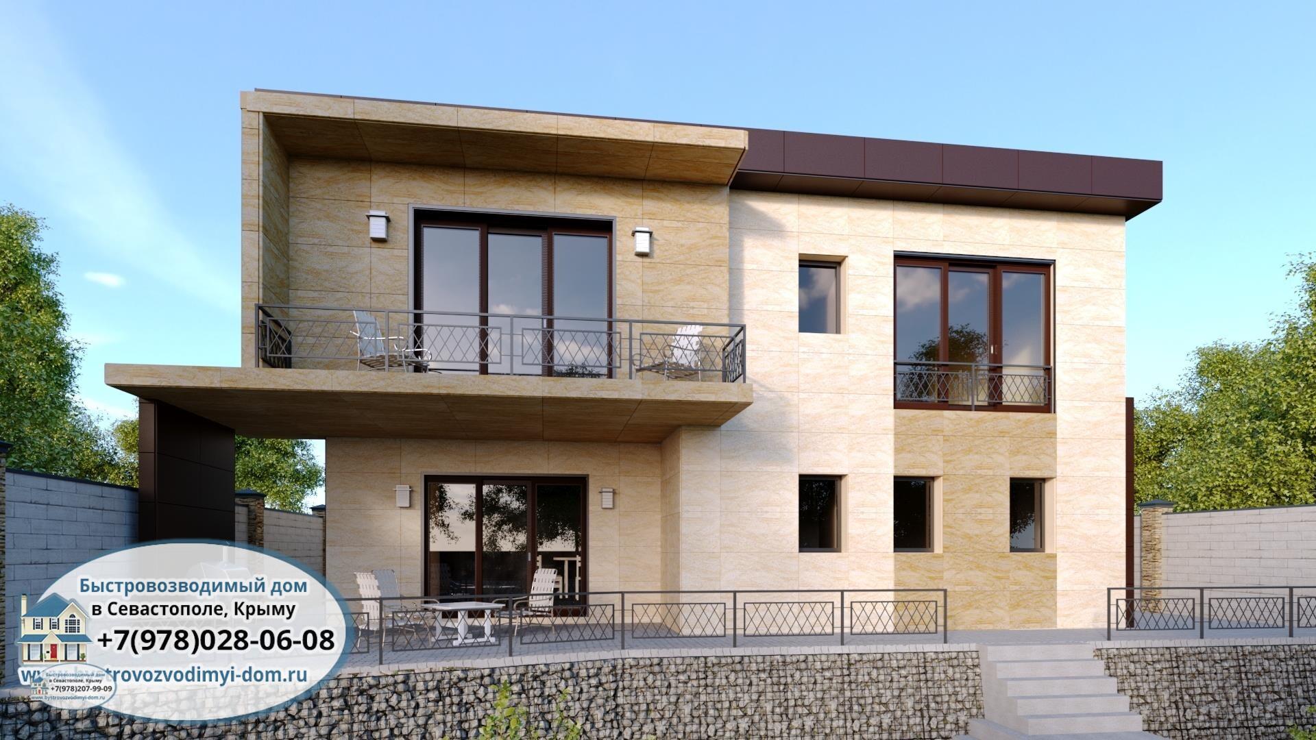Строительство домов Севастополь проекты