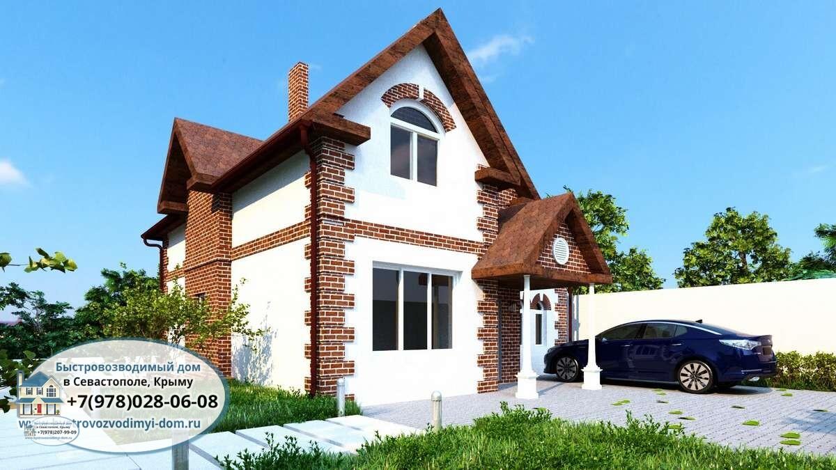 Строительство домов под ключ проекты Севастополь